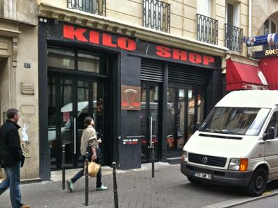 The Kilo Shop, Marais