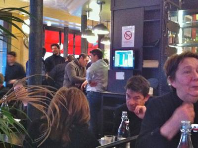 cafe in the Marais