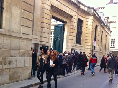 Lines outside the Picasso Musee, Paris