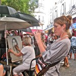 photo: Montmartre artist area