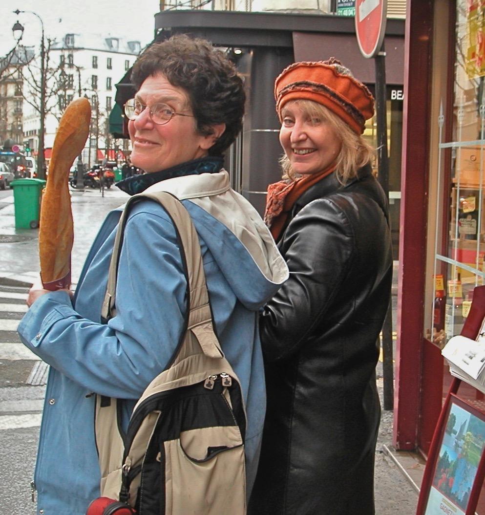 Patricia Tennison in Paris