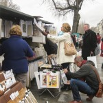 Bouquinists (book sellers) along the Seine