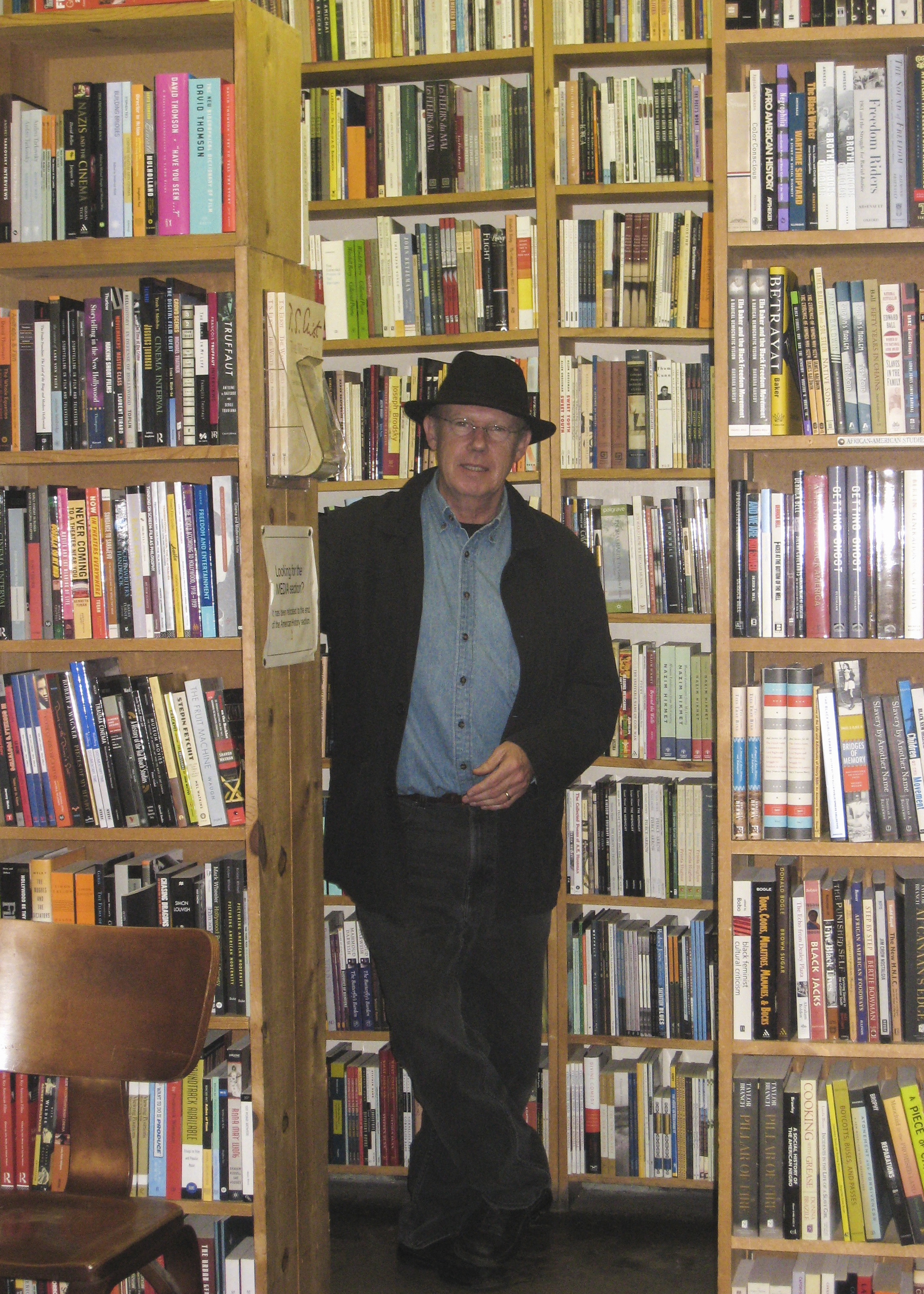 Joe Prendergast at Seminary Co-op, Chicago