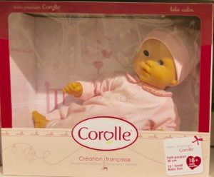 A Corolle brand doll—with its vanilla scent—makes a lovely gift from Paris.